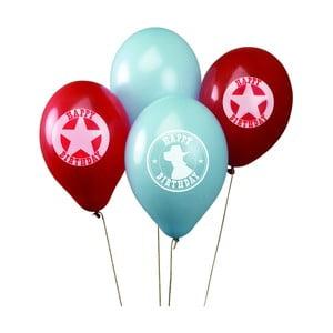 Sada 8 nafukovacích balónikov Neviti Wild West Cowboys