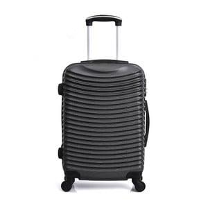 Čierny cestovný kufor na kolieskach Hero Etna, 61l