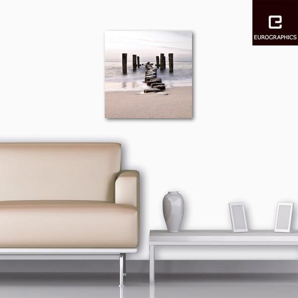 Sklenený obraz Path To Silky Sky, 50x50 cm