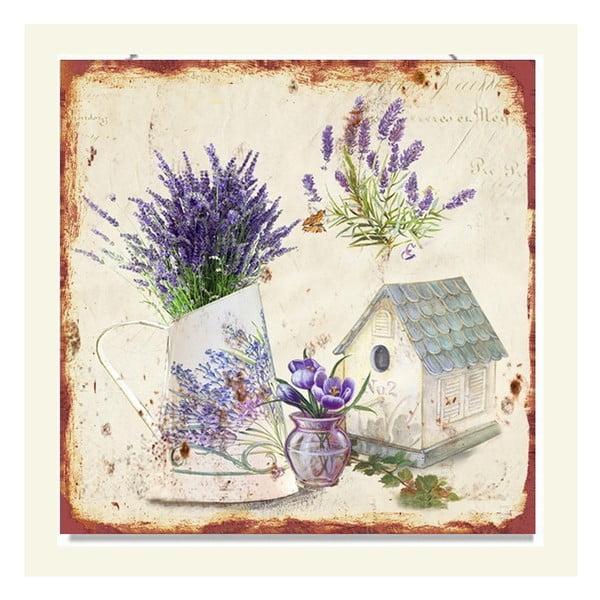 Nástenná dekorácia Lavender, 2 ks