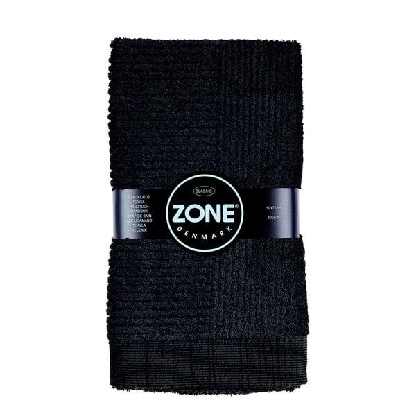 Čierny uterák Zone Classic, 50x70cm