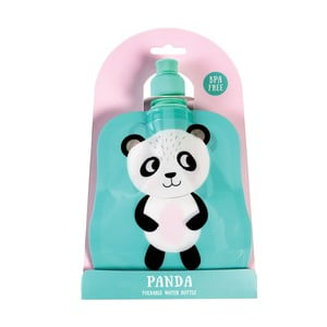 Skladacia fľaša na pitie Rex London Miko The Panda, 200ml
