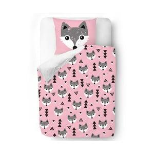 Obliečky Pink Foxes, 140x200 cm