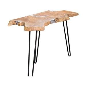 Konzolový stolík s doskou z teakového dreva Miloo Home Kuta