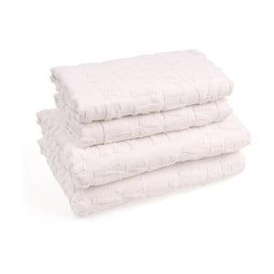 Sada 4 bavlnených uterákov CasaDiBassi Wtypo