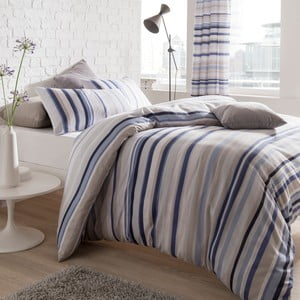 Obliečky Knitted Stripe, 135x200 cm