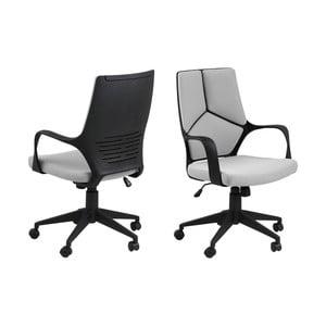 Svetlosivá kancelárska stolička Actona Dubnium Shorty
