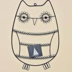 Nástenný držiak na fotky Owl