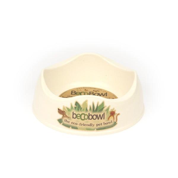 Miska pre psíkov/mačky Beco Bowl 21 cm, prírodná