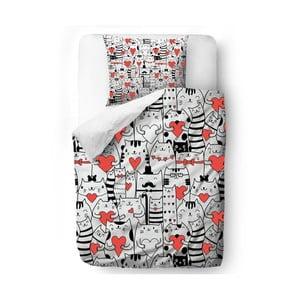 Obliečky Cat Love, 140x200 cm
