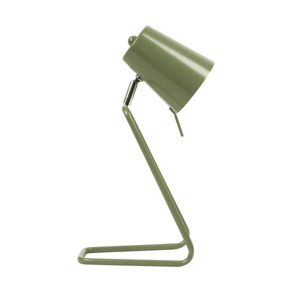 Zelená stolová lampa Leitmotiv Zet