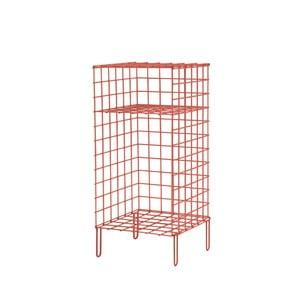 Červená kovová úložná skrinka Really Nice Things, 35×55 cm