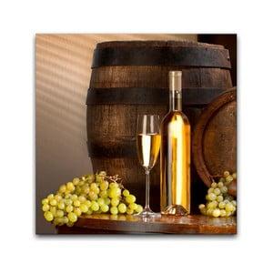 Obraz Styler Wino, 30 x 30 cm