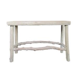 Drevený stolík Morrice, 68x24 cm