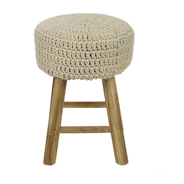 Stolička s pleteným sedadlom Cream, 27x41 cm