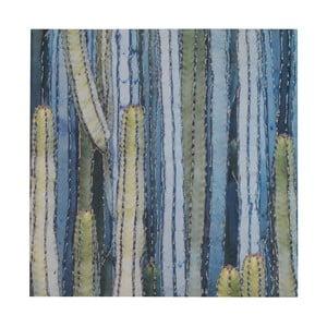 Nástenný obraz na plátne Geese Modern Style Cactus Uno, 70 × 70 cm