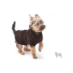 Hnedý svetrík pre psov Marendog Trip, veľ. S