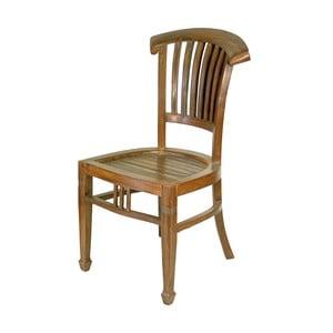 Teaková stolička Goa, hnedá