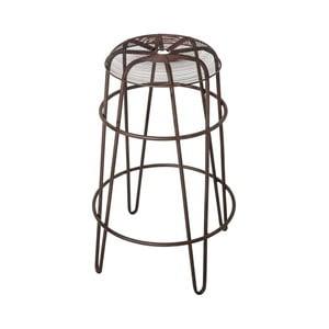 Barová stolička Antic Line Bobby Naturel, ø 43,5 cm