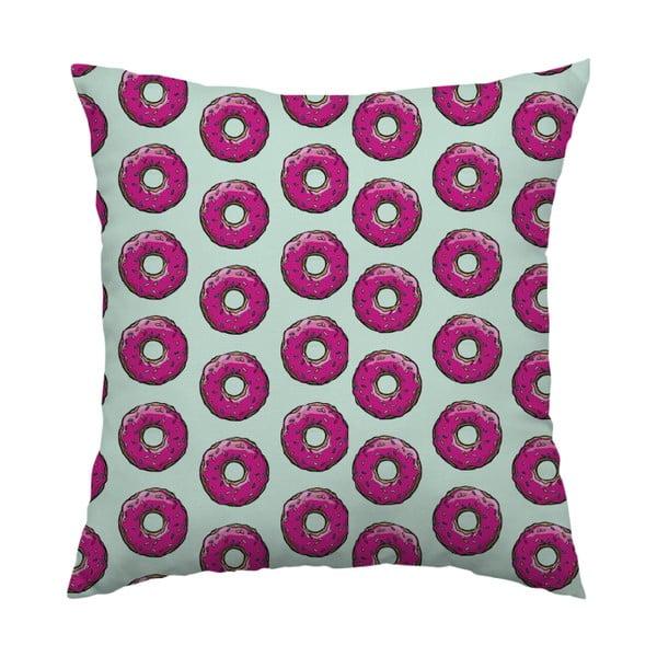 Vankúš Donut Love, 40x40 cm