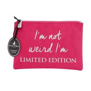 Ružová dámska listová kabelka Statement Pieces Limited Edition, 24 x 17 cm