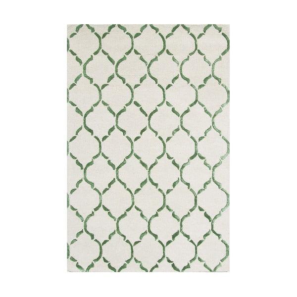 Koberec Chain Green, 122x183 cm