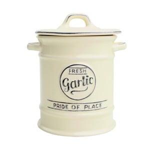Krémová porcelánová dóza na cesnak T&G Woodware Pride of Place