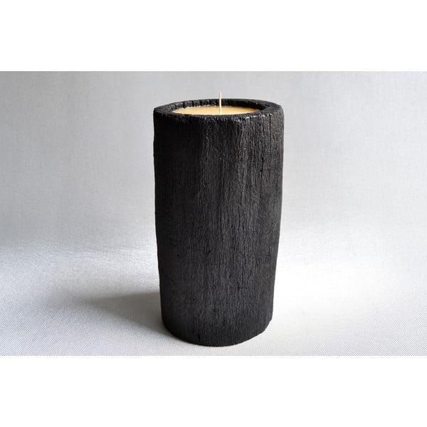 Palmová sviečka Legno s vôňou vanilky a pačuli, 60 hodín horenia