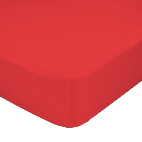 Prestieradlo Little W, 90x200 cm, červené