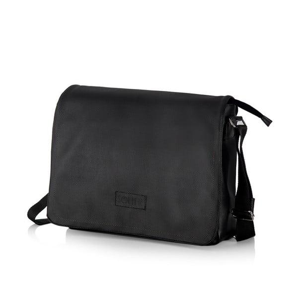 Pánska taška Solier S11, čierna