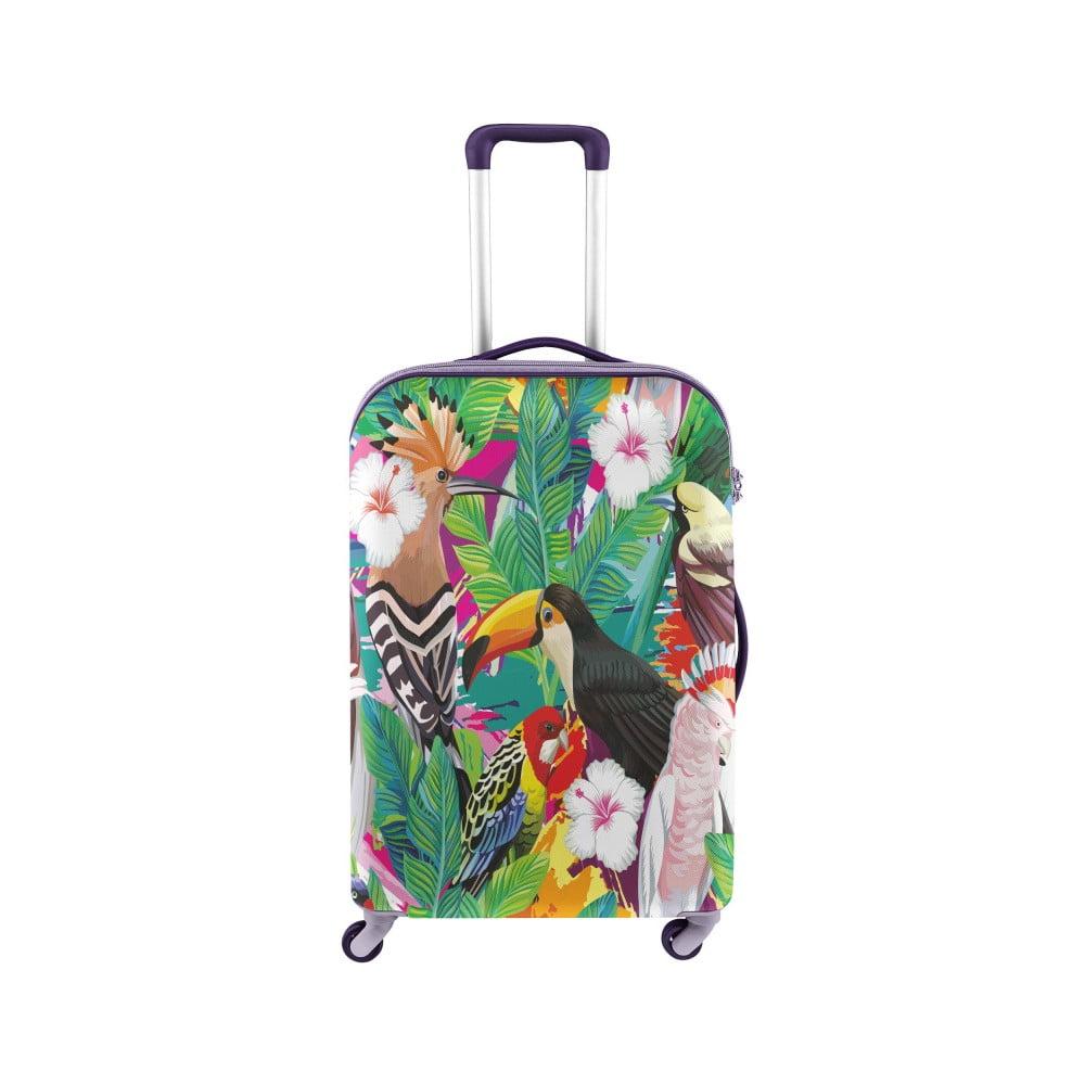 Obal na kufor s tropickým motívom Oyo Concept, 67 × 43 cm