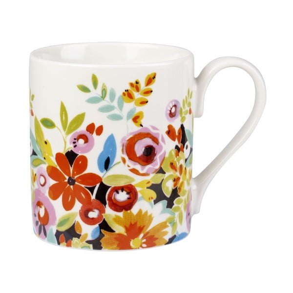 Sada 4 hrnčekov Churchill China Collier Campbell Flower, 250 ml