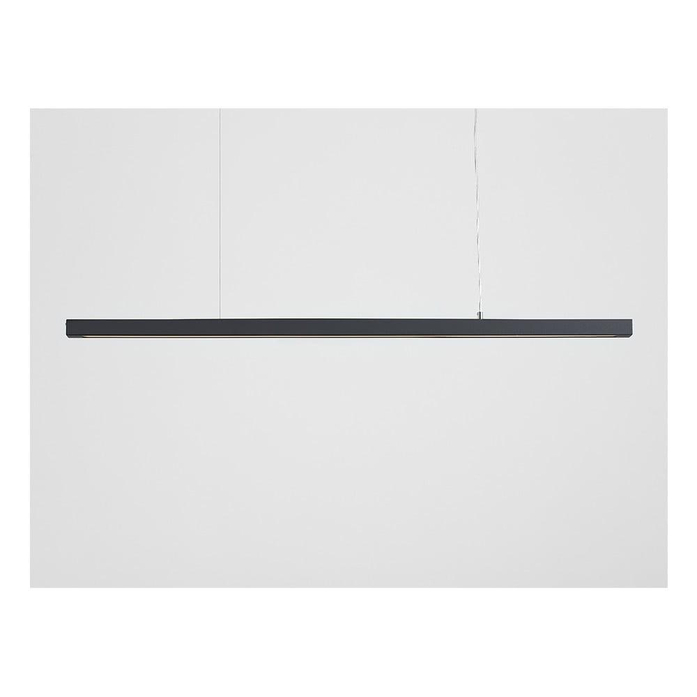 Tmavosivé závesné svietidlo Custom Form Line Plus XL