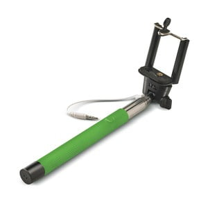Selfie tyč CELLY, zelená