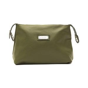Zelená kožená kabelka Alviero Martini Maturia