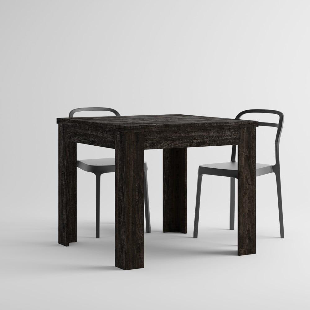 Rozkladací jedálenský stôl v dekore hnedého duba MobiliFiver Eldorado, dĺžka 90-180 cm