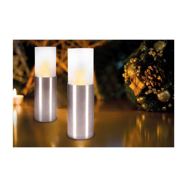 Vonkajšia LED sviečka Vanessa