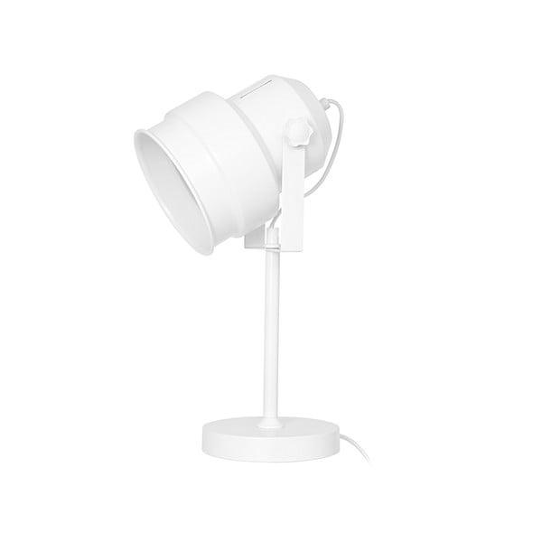 Biela stolová lampa Leitmotiv Studio
