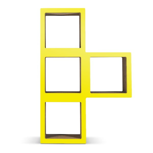 Kartónová knižnica Bit Ti Yellow