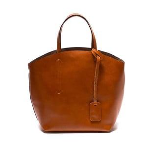 Hnedá kožená kabelka Sofia Cardoni Nora