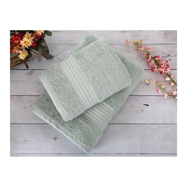 Mentolová osuška Irya Home Egyptian Cotton, 70x130 cm