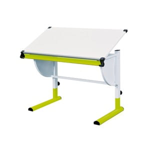 Zeleno-biely nastaviteľný písací stôl 13Casa Becket