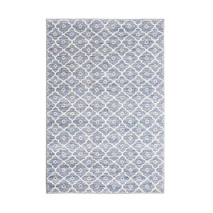 Sivý vysokoodolný koberec Floorita Tibet Duro, 80 x 150 cm