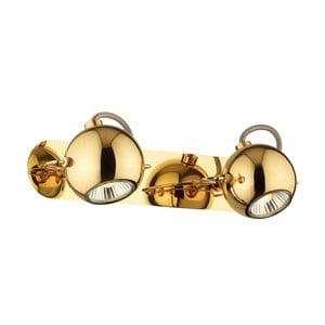 Nástenné/stropné svetlo Crido Double Point Gold