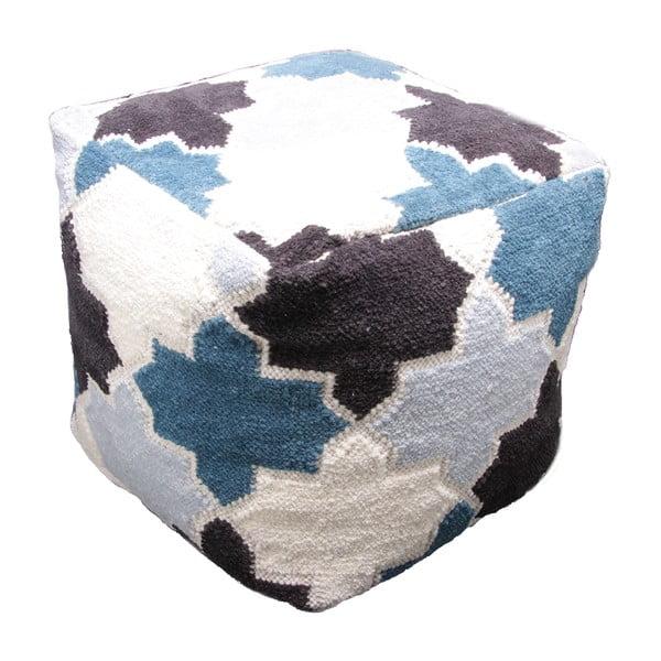 Ručne tkaný detský sedací pufík Nattiot Mosaircus