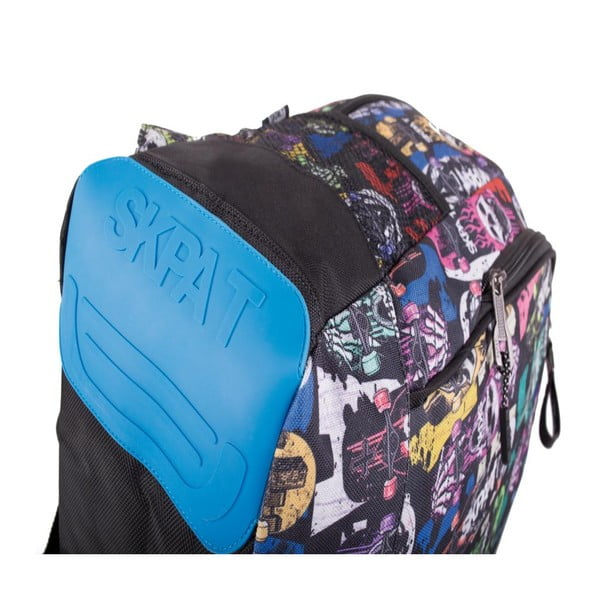 Batoh Skpat-T Backpack Black Skulls