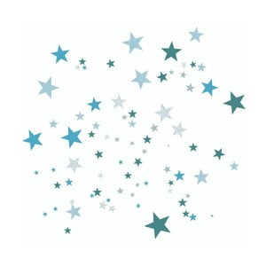 Modré nástenné samolepky Art For Kids Constellation