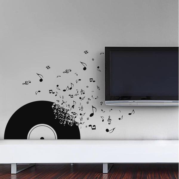 Samolepka na stenu Vinylová platňa, 70x50 cm