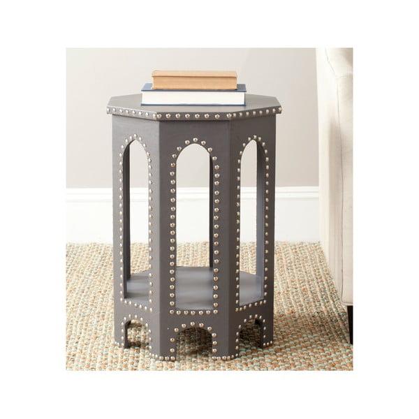 Odkladací stolík Amala, svetlosivý