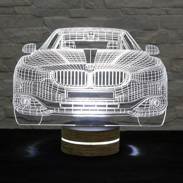 3D stolová lampa Cool Car